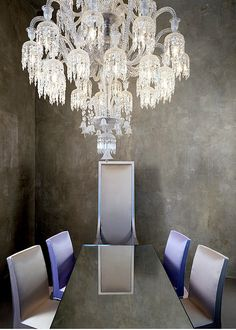 Baccarat Chandelier  @DestinationMars