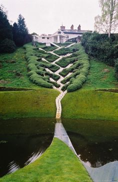 Fairy-Tale-Like Landscape Architecture by Charles Jencks