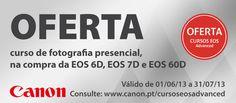 Oferta Canon curso fotografia