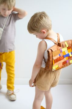 Scrap Fringe Satchel : M A N I M A L #kids #accessories #backpacks
