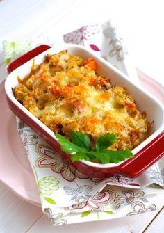 valašský kontrabáš Veg Recipes, Lunch Recipes, Cooking Recipes, Healthy Recipes, Raw Vegan, Vegan Vegetarian, Vegan Recepies, Buckwheat Recipes, Macaroni And Cheese