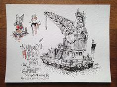 Zeichnung / drawing 32x24 cm