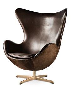 蛋椅Egg Chair、丹麥建築師Arne Jacobson
