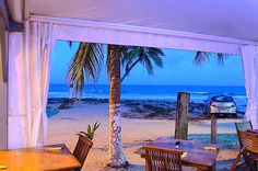 New Cap bar and restaurant Le Diamant beach, Martinique On Rum Therapy