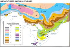 Hardiness Zones for Ontario Quebec You can click your postal code for your zone
