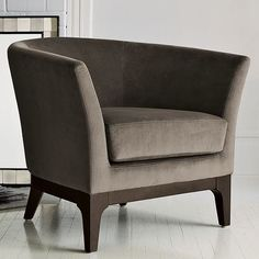 Tulip Upholstered Chair - modern - Armchairs And Accent Chairs - West Elm