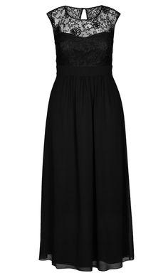 City Chic - LACE GODDESS MAXI DRESS - Women's Plus Size Fashion