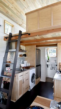 28ft Urban Payette Tiny Home with Bump Out 004