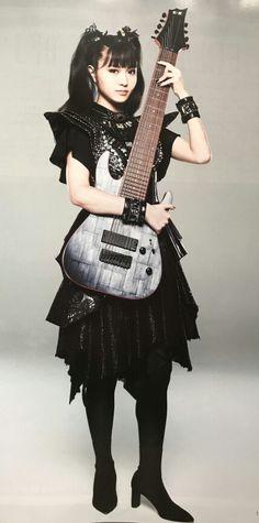 Heavy Metal Music, Heavy Metal Bands, Moa Kikuchi, Guitar Girl, Japanese Beauty, Cool Girl, Goth, Beautiful Women, Kawaii