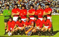 EQUIPOS DE FÚTBOL: SELECCIÓN DE ESPAÑA contra Suecia 11/06/1978