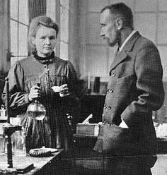 Pierre et Marie Curie. Physics, Chemistry, Biology. First Nobel Prize Woman. Twice!