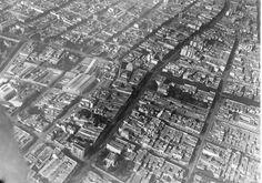 Av. Santa Fe y Av. Coronel Díaz (c. 1925) | Foto de Juan Bautista Borra y Enrique Broszeit – Colección Familia Borra | Historia y Arqueología Marítima