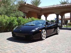 Lamborghini Gallardo Black on Black