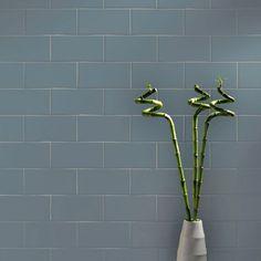 Hatton Cross Smooth Gloss 200x100 Grey Tiles Metro Smooth 200x100 Tiles 200x100x7mm Tiles