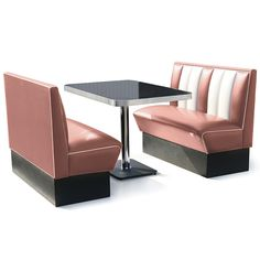 Hollywood Booth Dining Set Rose   Buy American Retro Furniture Dining Booths    Buy at drinkstuffRestaurant booth with wine colored vinyl   Restaurant Furniture  . Dining Booth Furniture. Home Design Ideas
