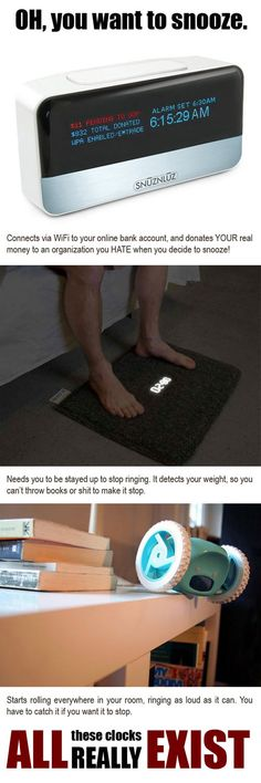 Never snooze again...