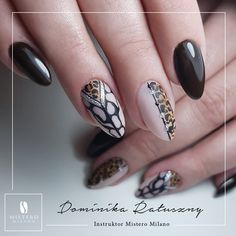 Fingernail Designs, Crazy Nails, Milano, Manicure, Nail Art, Beauty, Fashion, Designed Nails, Swarovski Nails
