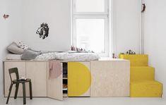 Jäll & Tofta // Inspiring family home with clever storage space - Baby Bed, Kids Bedroom, Bedroom Decor, Bedroom Ideas, Design Bedroom, Modern Bedroom, Kids Rooms, Neutral Bedrooms, Awesome Bedrooms, Shared Bedrooms