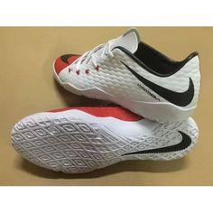on sale 69ecd 9410a Nyaste Nike Hypervenom III IC Whiye Svart Röd Herr Fotbollsskor