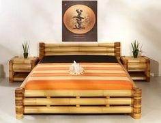 bed dari bambu