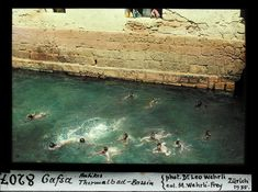 Gafsa, antikes Thermalbad-Bassin, 1935 Spa, Wellness, Painting, Plunge Pool, Painting Art, Paintings, Painted Canvas, Drawings