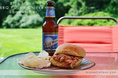 Blue Moon BBQ Pulled Chicken Sandwiches