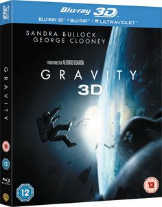 Gravity Blu-ray 3D + Blu-ray 2013 Region Free: Amazon.co.uk: George Clooney, Sandra Bullock, Alfonso Cuaron: DVD & Blu-ray