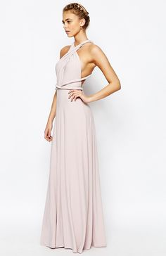 Blush multiwrap bridesmaid dress by Coast Need more great ideas to plan your wedding? www.destinationweddingcollective.com