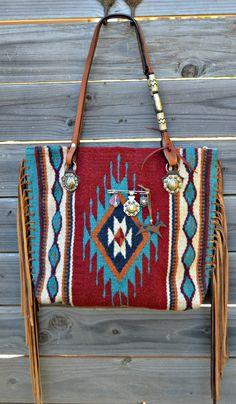Create your own custom Saddle Blanket Bag at Diamond 57 Leather Goods!