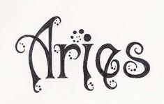 aries tattoo - Google Search