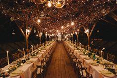 Fairylit Barn Wedding   Kasey Ivan Photography   Mackey Photo   Bridal Musings Wedding Blog