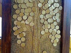Делаем панно «Денежное дерево» | Ярмарка Мастеров - ручная работа, handmade