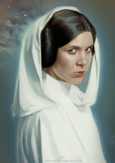 Her Royal Highness, Princess Leia Organa of Alderaan