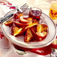 French Toast Sandwiches with Maple Apples Recipe - Delish