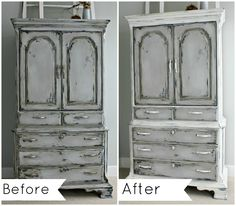 Furniture Painting...Again - 3rd Times the Charm? - The Lilypad Cottage
