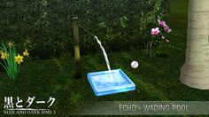 TS3 - Echo - Wading Pool ~ Noir and Dark Sims