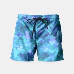 Hues Of Purple Cut Paper Pattern Swim Shorts, Live Heroes Cut Paper, Paper Cutting, Mens Swim Shorts, Swimsuits, Swimwear, Pattern Paper, Beachwear, Live, Purple