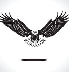 Imagens, fotos stock e vetores similares de Eagle Black and White Vector Illustation - 1092908657 Tatto Eagle, Eagle Tattoos, Tattoo Tribal, Tribal Tattoo Designs, Skull Tattoo Design, Dragon Tattoo Designs, Chest Piece Tattoos, Chest Tattoo, Lower Stomach Tattoos