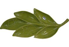 Midcentury Leaf Serving Dish