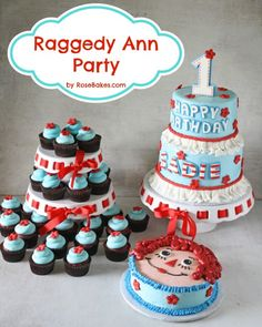 Raggedy Ann Party wi