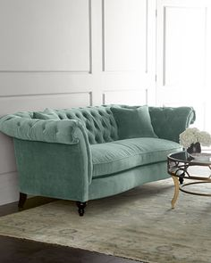 Jadelyn+Tufted+Sofa+at+Horchow.
