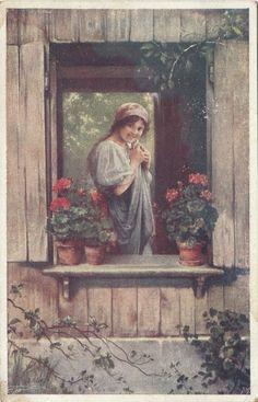 (1920) (Francia) La Coquette du Village (La Civetta del Villaggio)