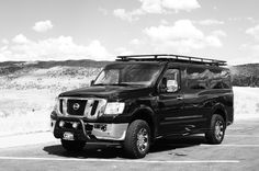 Nissan NV 3500, 4x4 installed by Advanced Four Wheel Drive