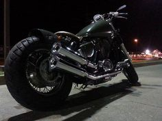 96' Honda shadow 1100 Ace by Shawn Elikofer   Bobber Inspiration - Bobbers and Custom Motorcycles October 2014