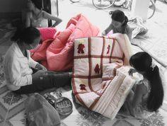 #quilt #handmade #Vietnam #socialbusiness #development Social Business, Cambodia, Gym Bag, Vietnam, Quilts, Handmade, Bags, Women, Decor
