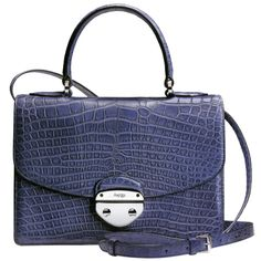 "Aspreyof London ""CULT brand among the rich & Famous Brits  Morgan day bag -"