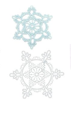 Crochet Patterns Christmas Mobile LiveInternet We knit for the New Year Bandeau Crochet, Crochet Diy, Thread Crochet, Crochet Motif, Irish Crochet, Crochet Patterns, Crochet Snowflake Pattern, Crochet Stars, Crochet Snowflakes
