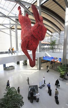 Lawrence Argent's 10,000 Pound Bunny Sculpture