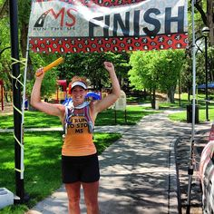There she is!!! FINISHED :) Congratulations Amy on your epic feat! 146-mi in 6-days to cure MS!!! #msruntheus #running #ultrarunning # colorado
