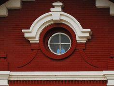 Building Facade, Red Bricks, Exterior, Windows, Architecture, Outdoor Decor, Photography, Home Decor, Homemade Home Decor